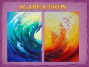 Eros y agapé